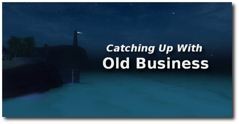 Catching Up With Old Business: Three Updates – Gamer Geoff