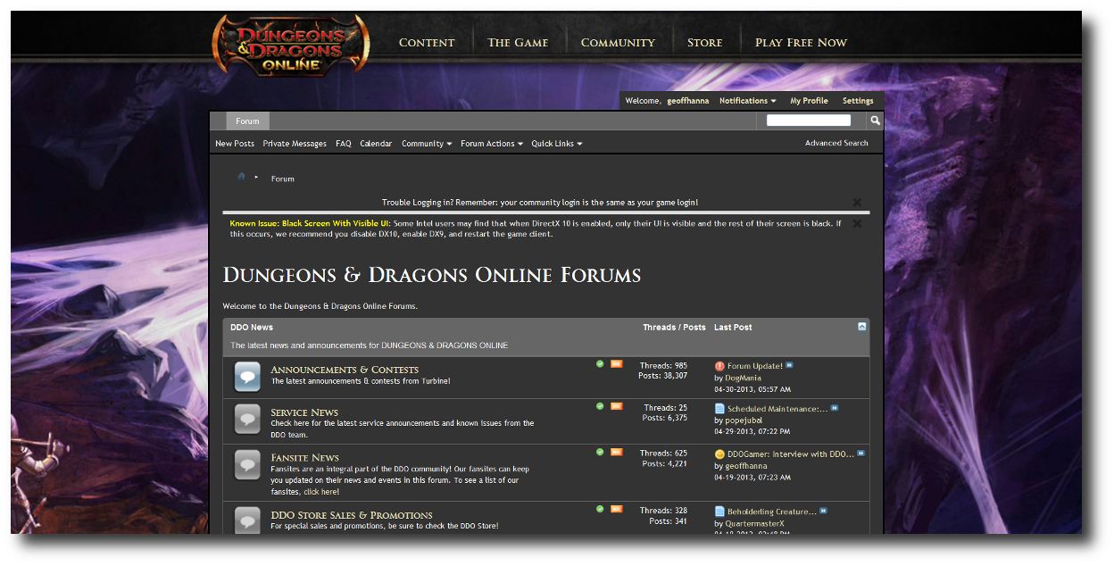 The new forums