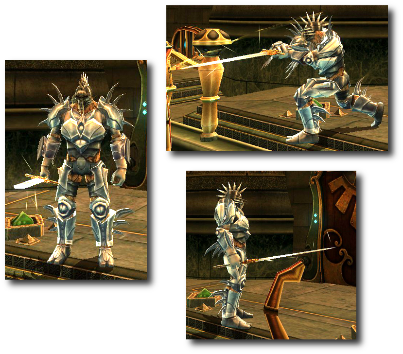 Bladeforged appearance