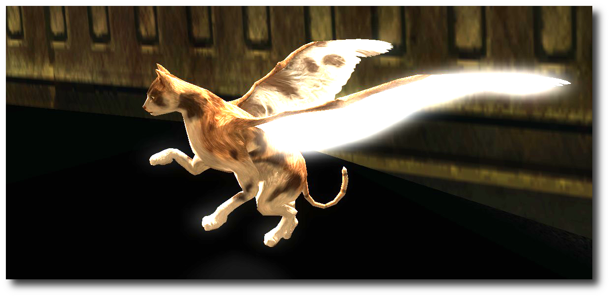 Flying cat. In retrospect the only question is why these haven't been in the game all along