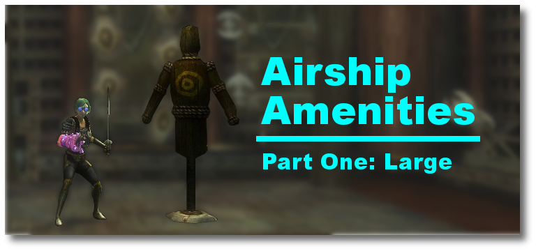 Large Airship Amenities