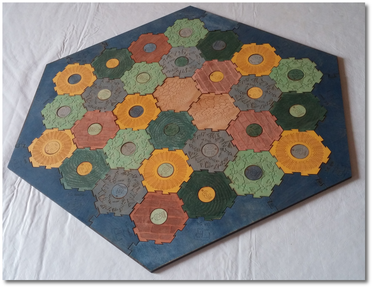 The Settlers Of Catan Board Weve Always Wanted Gamer Geoff