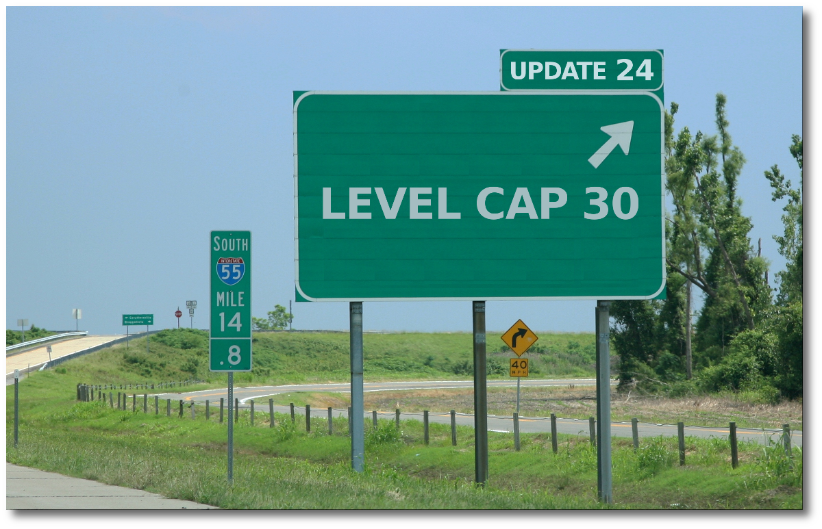 The Road to Level Cap 30