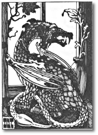 First Edition Monster Manual Pseudo-Dragon