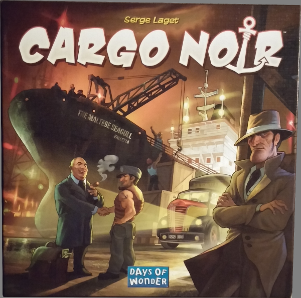 Cargo Noir Board Game By Days Of Wonder New /& Sealed