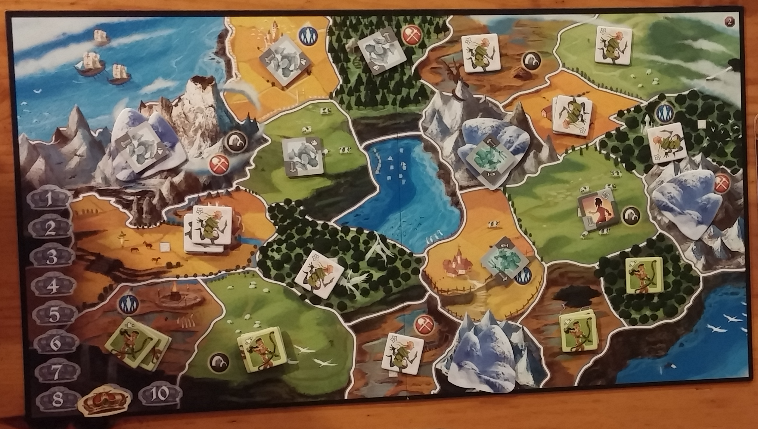 Game review small world gamer geoff small world two player game board gumiabroncs Images