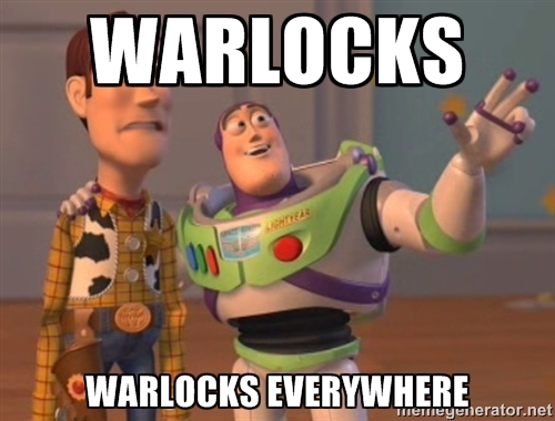 Warlocks everywhere
