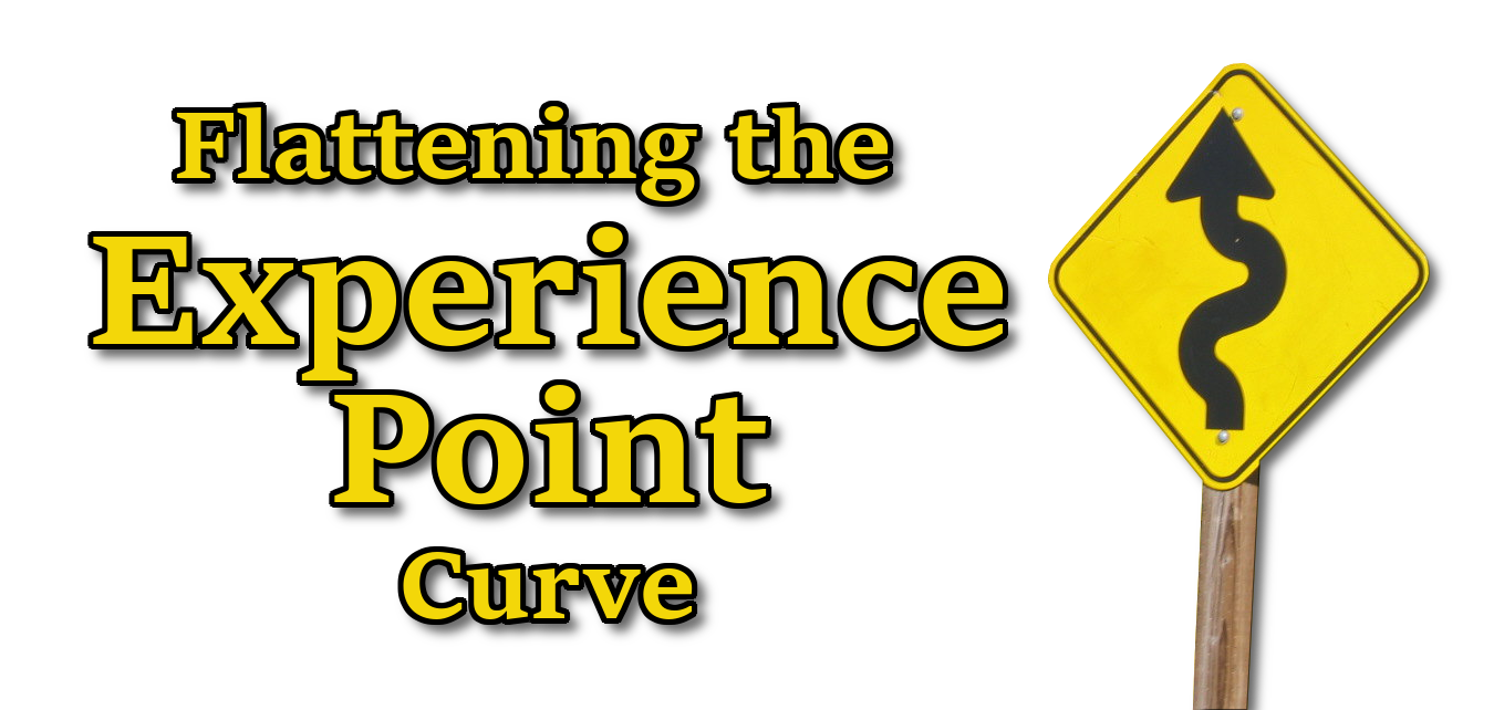 Flattening the Experience Point Curve