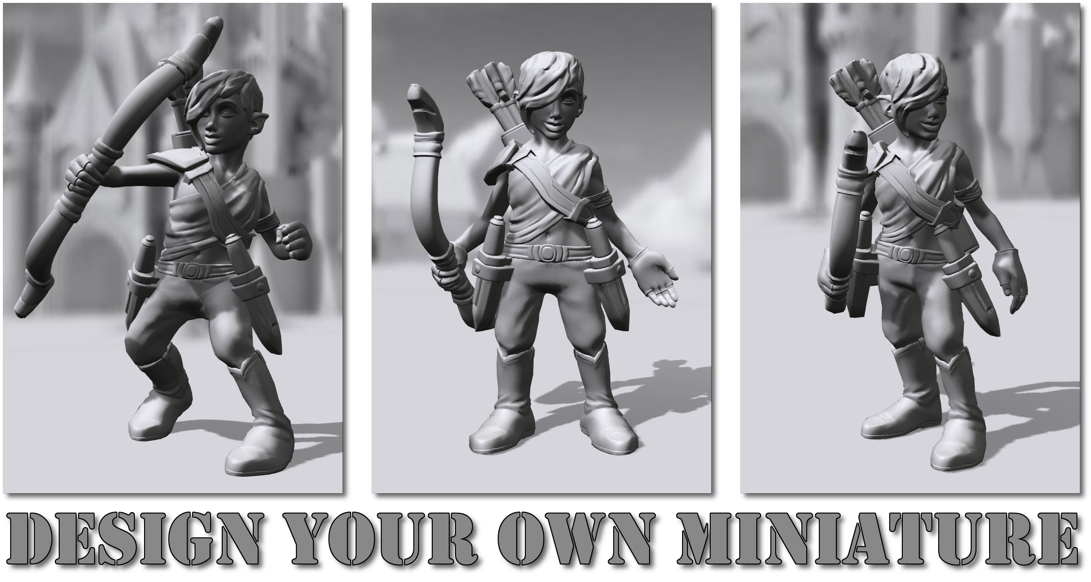 Design Your Own Miniature!