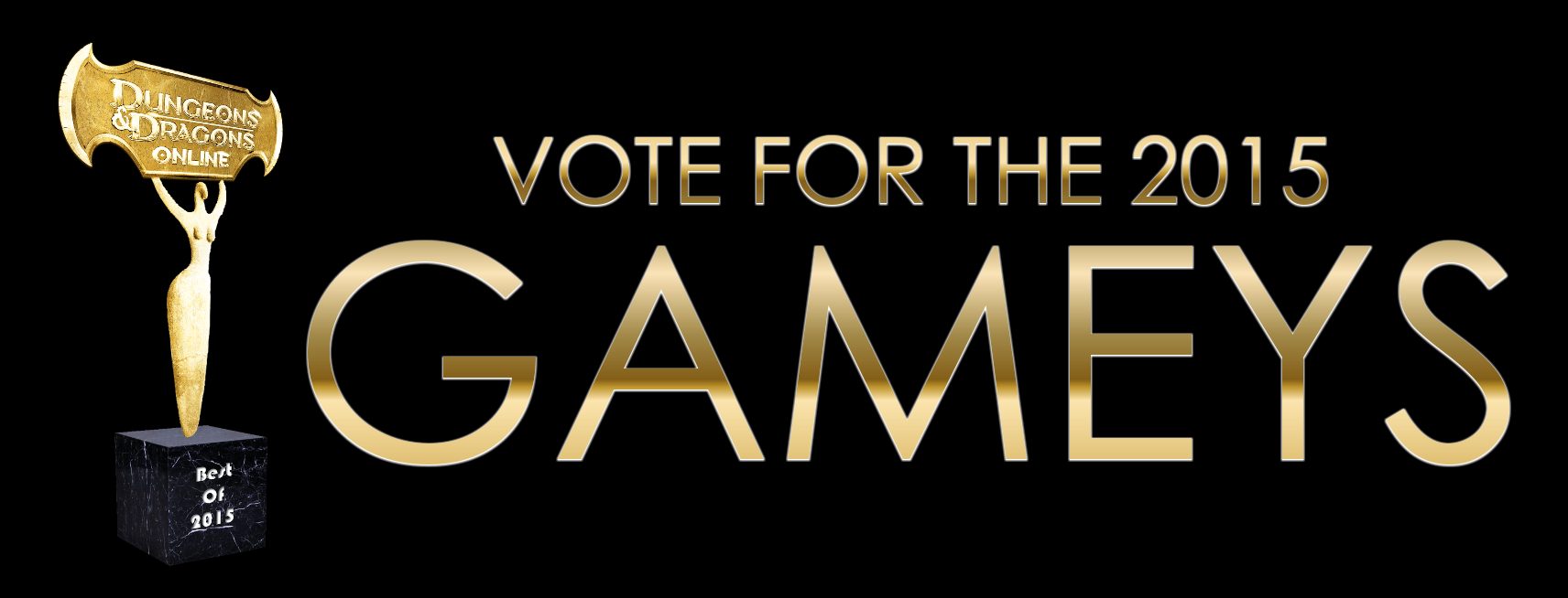 Vote for the 2015 GAMEY Awards