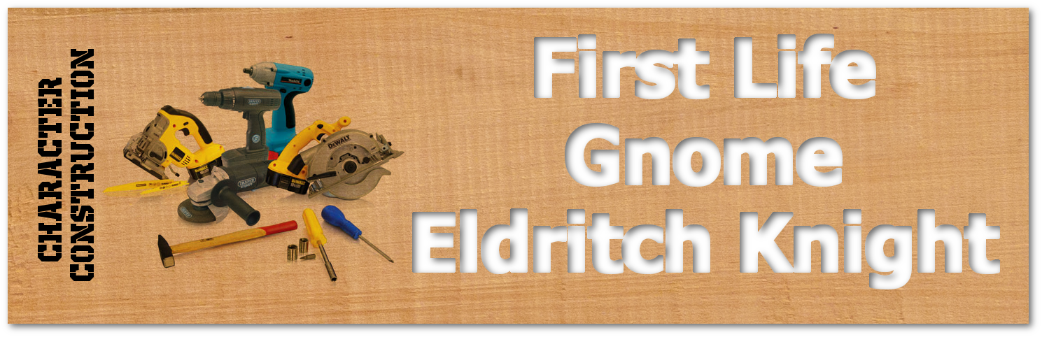 First Life Gnome Eldritch Knight