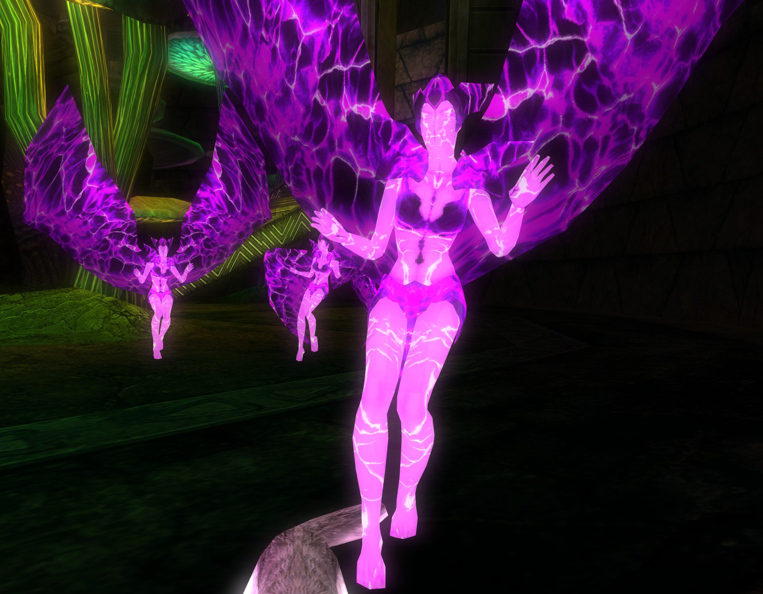 Faceless Laser Wing Faeries