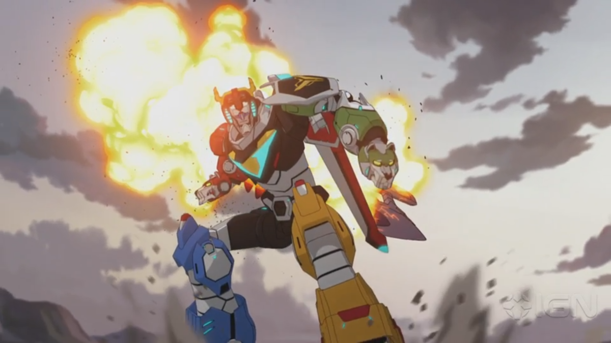 Voltron, Defender of the Universe