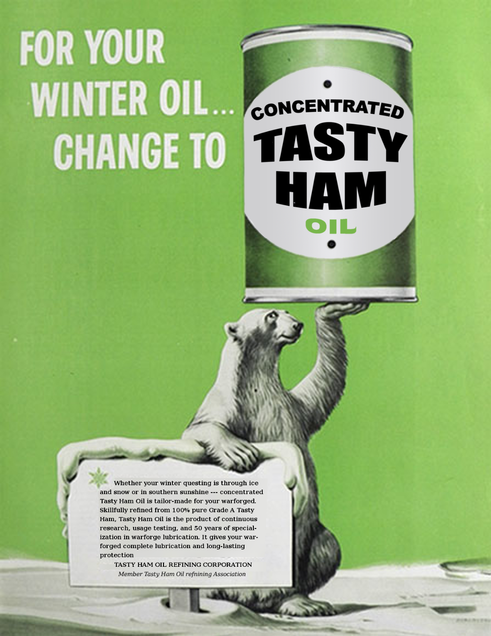 Concentrated Tasty Ham Oil