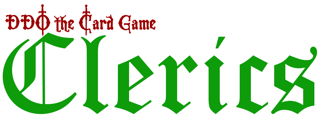 DDO The Card Game - Clerics