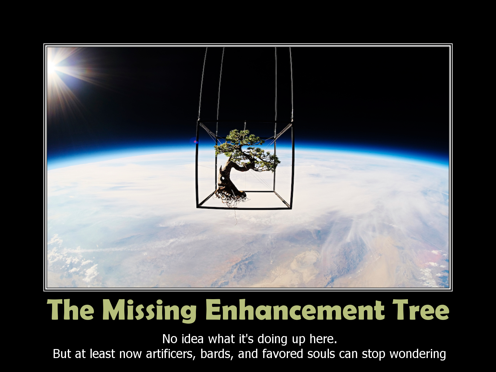 The Missing Enhancement Tree