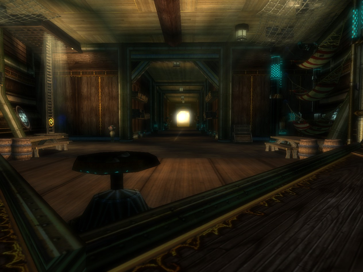 The Cavernous First Deck of the Windspyre Gryphon