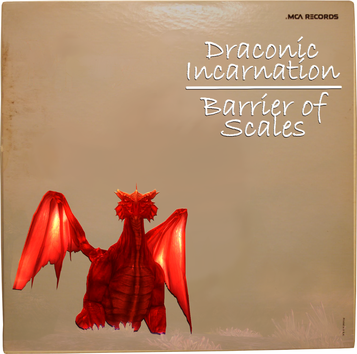 Draconic Incarnation - Barrier of Scales