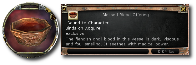 Blessed Blood Offering