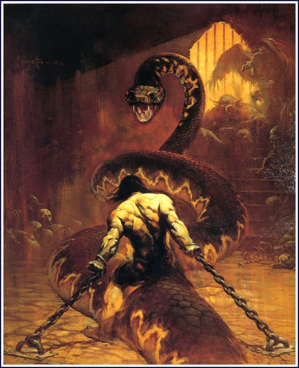 Conan the Usuper - by Frank Frazetta