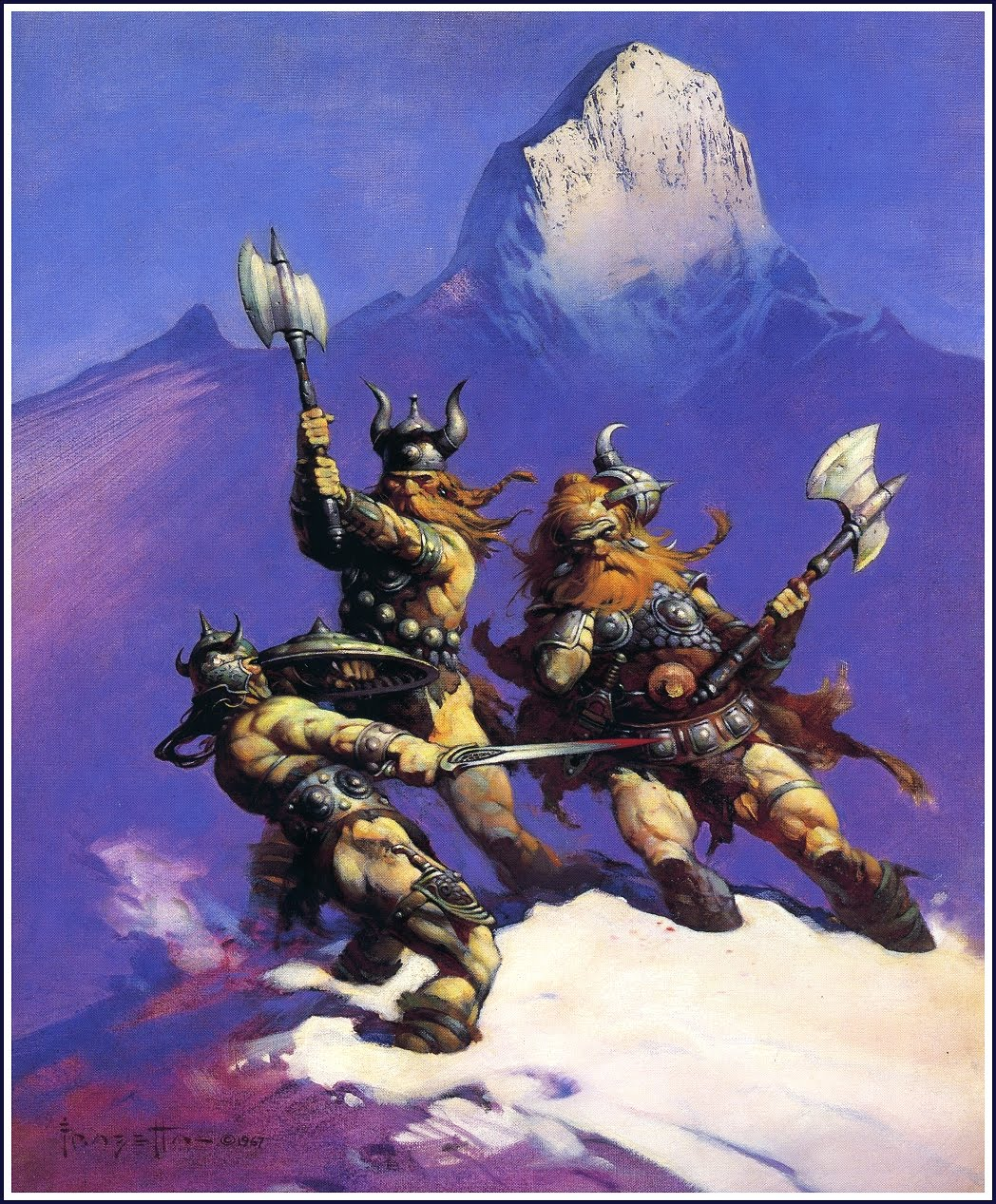 Conan of Cimmeria - by Frank Frazetta