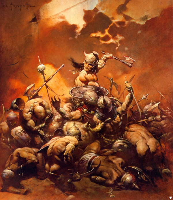 Conan the Destroyer - by Frank Frazetta
