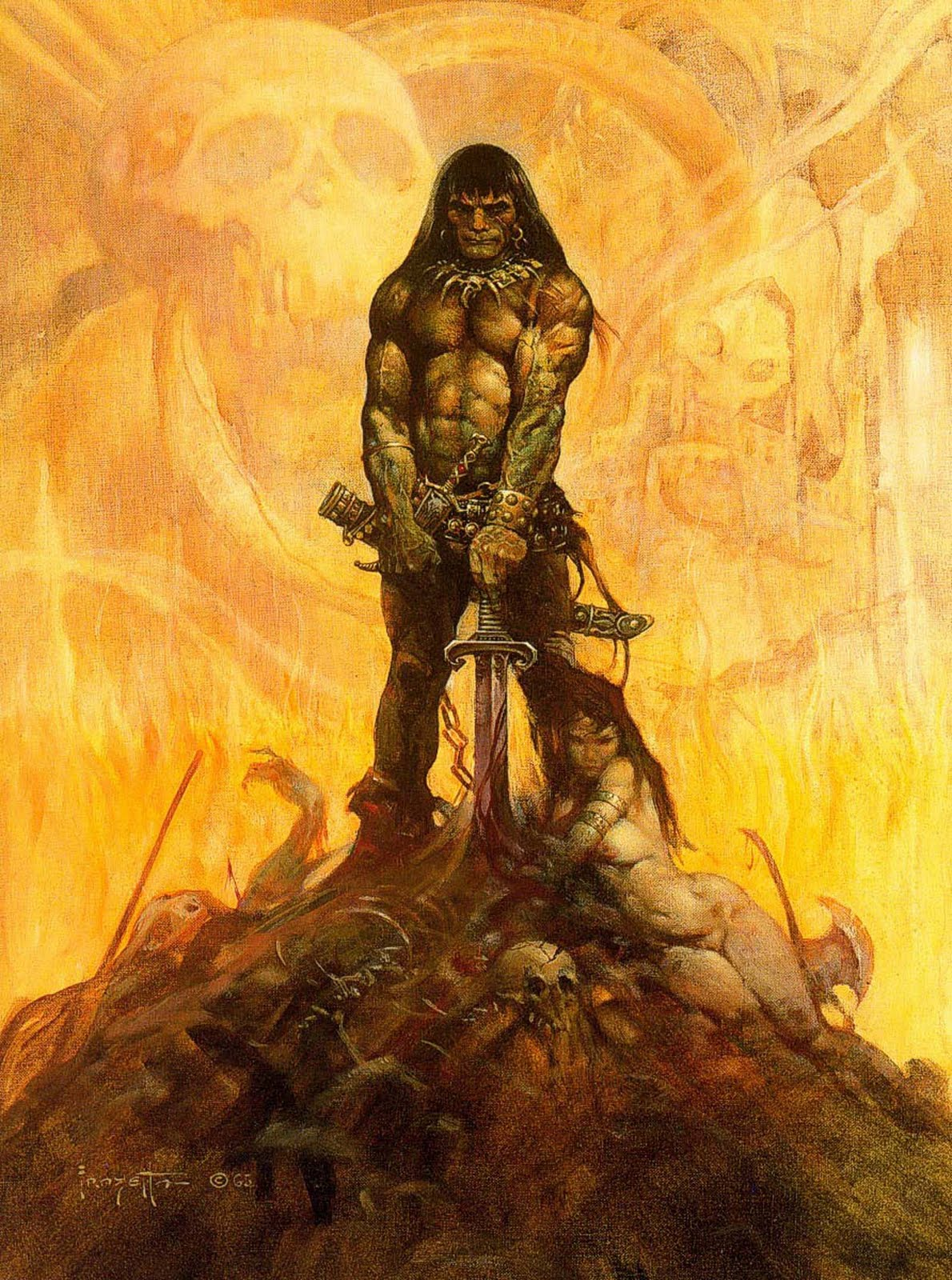 Conan the Barbarian - by Frank Frazetta