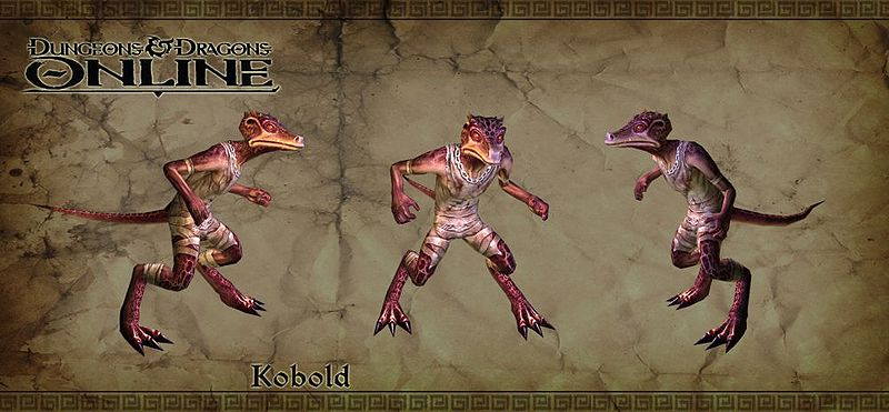 Behold the Kobold