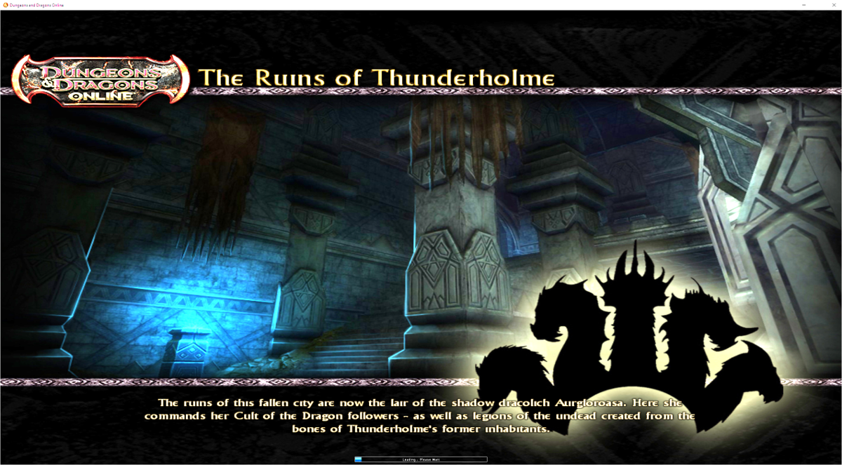 Thunderholme load screen