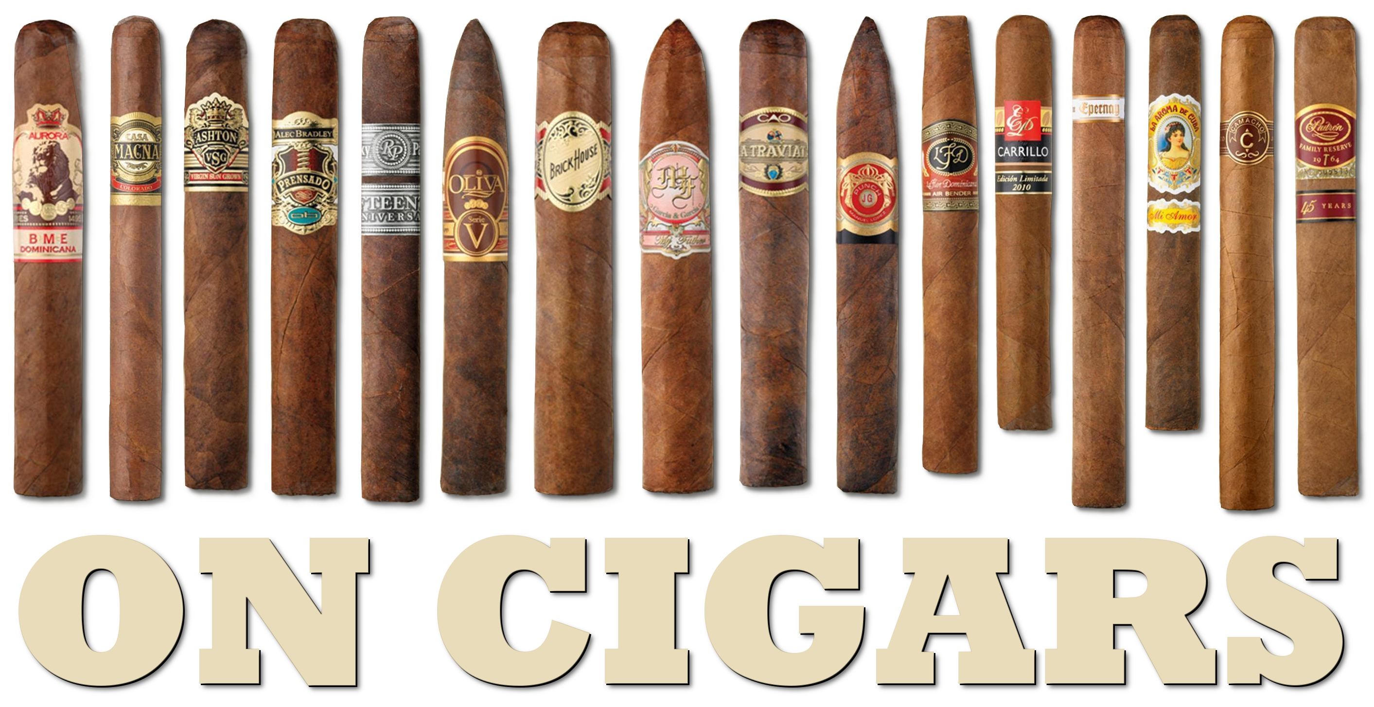 on cigars