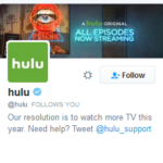 Don't Look! But Hulu is Following You